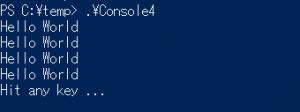Console4
